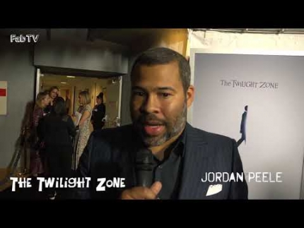 "Jordan Peele at ""THE TWILIGHT ZONE""  premiere ""Un-Cut"""