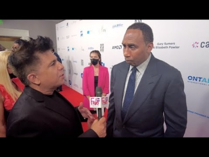 """Stephen A. Smith 'always on point' at the """"Harold and Carole Pump Foundation Gala"""""""