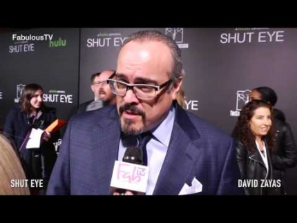 "David Zayas stars in Hulu's ""Shut Eye"" premiere on Fabulous TV"