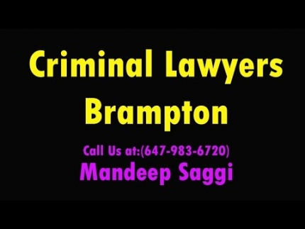 Criminal Lawyers Brampton - Saggi Law Firm | Call Us at:(647-983-6720)