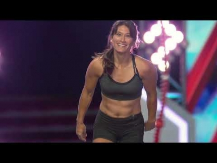 SANDY ZIMMERMAN  - American Ninja Warrior: Finals 1