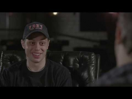 "Pete Davidson interview ""The King of Staten Island""  part 1"