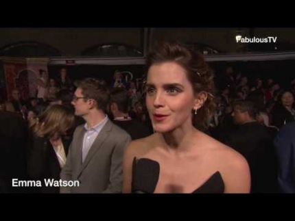 Emma Watson at 'Beauty and the Beast' premiere on FabulousTV