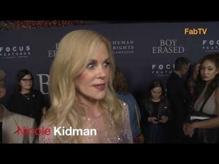 "Nicole Kidman  ""Boy Erased"""