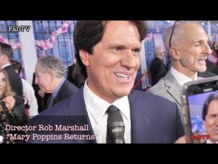 "Director Rob Marshall at ""Mary Poppins Returns""  World Premiere"