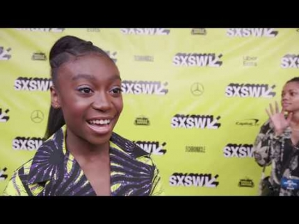 """US"" Red Carpet at SXSW with Shahadi Wright Joseph"