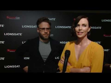 Seth Rogen & Charlize Theron discuss LONG SHOT at CinemaCon VEGAS