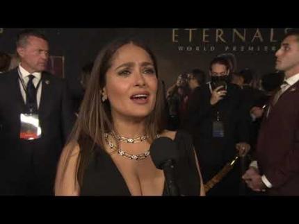 "Salma Hayek - Marvel Studios' ""Eternals"" World Premiere"
