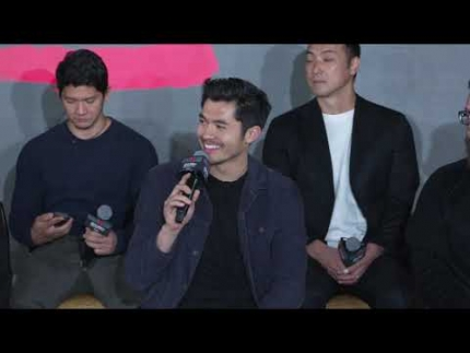 """""""SNAKE EYES""""  Press event with  Henry Golding"""