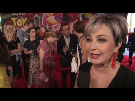 "ANNIE POTTS details her work at the ""TOY STORY 4""  PREMIERE"