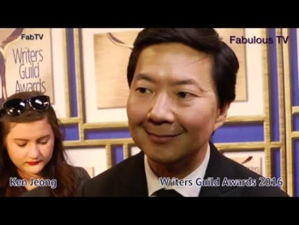 Ken Jeong at the Writers Guild of America Awards 2016 on Fabulous TV