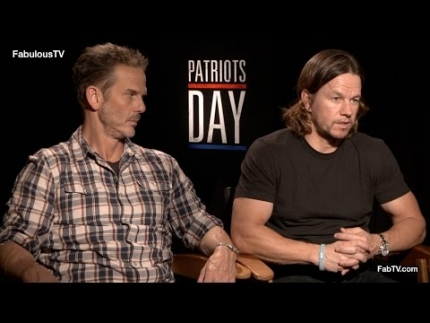 Mark Wahlberg & director Peter Berg talk about Boston & 'Patriots Day'