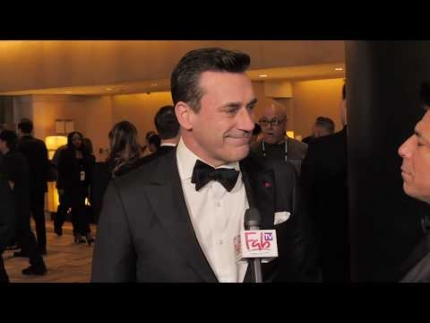 "Jon Hamm ""TOP GUN""  Golden Globes"