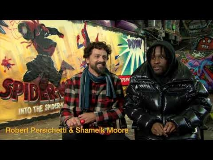 "Robert Persichetti & Shameik Moore ""LONDON Comic Con"""