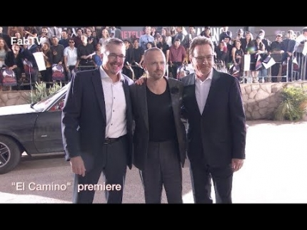"Breaking Bad new film ""El CAMINO""  arrivals premiere & red carpet"