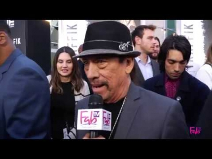 Danny Trejo at the TRAFFIK red carpet & premiere!