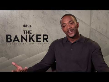 """THE BANKER""  Anthony Mackie   Apple+"