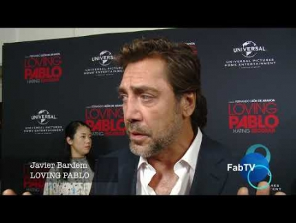 "Javier Bardem  at the ""LOVE PABLO""  red carpet"