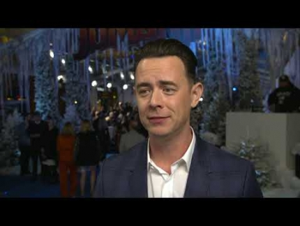 """JUMANJI""  world premiere with COLIN HANKS"