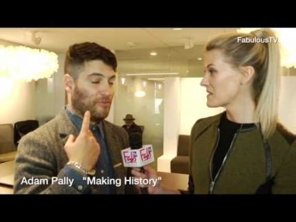 Adam Pally star of 'Making History' on FabulousTV