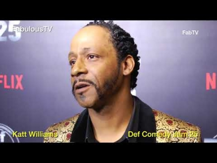 Katt Williams at 'Def Comedy Jam 25' on FabulousTV