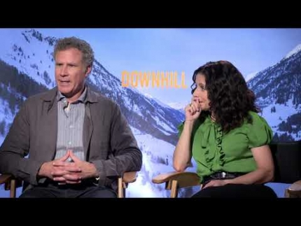 """DOWNHILL"" Julia Louis-Dreyfus and Will Ferrell -..."