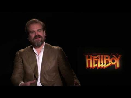 "David Harbour is ""Hellboy"""