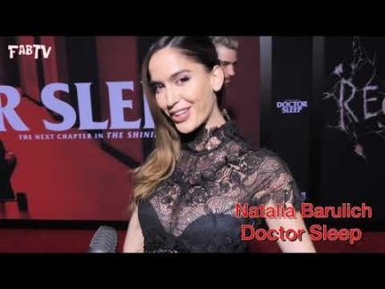 "Charlie Albo & Natalia Barulich at the ""Doctor Sleep  red carpet"""