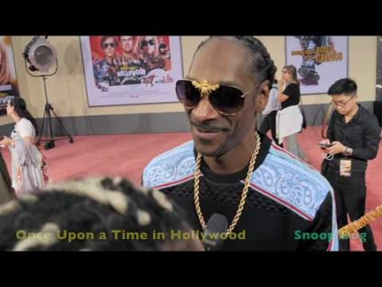 EXCLUSIVE! Snoop Dog 'Once Upon a Time in Hollywood' Premiere