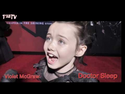 Violet McGraw at 'Doctor Sleep' premiere