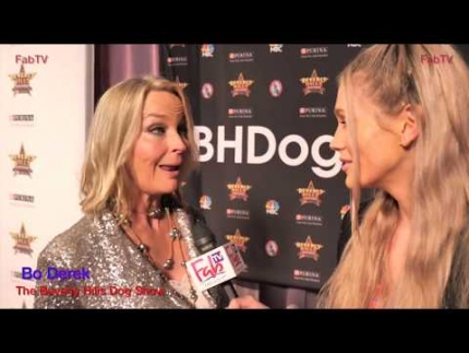 """Bo Derek"" expresses her loves for dogs @ 'The Beverly Hills Dog Show' on FabTV"