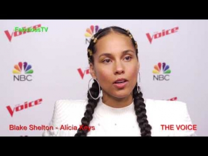 Alicia Keys talks about strategy & competing with Team Blake on...
