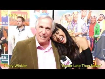 """Better Late than Never"" Henry Winkler EP on FabTV"