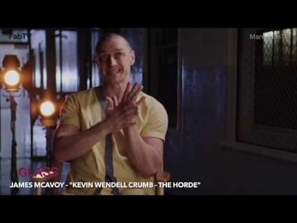 "James McAvoy  ""Kevin Wendell Crumb""  - The Horde  in GLASS"