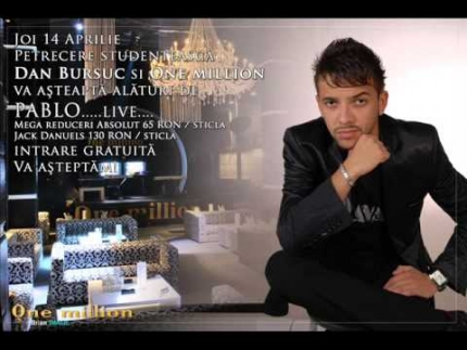 Pablo de la Timisoara - Olla mi amor (live One million Timisoara)