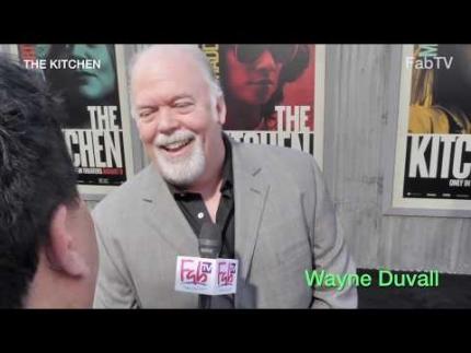 "Wayne Duvall talks  ""Irish Westies""  at ""The Kitchen"" premiere"