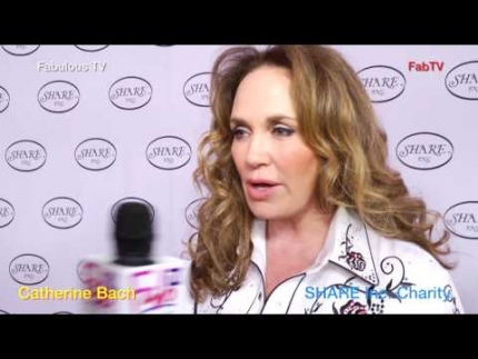 Catherine Bach talks about SHARE Inc. charity on Fabulous TV