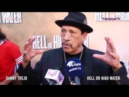 Danny Trejo discusses the film business at  Hell or High Water  premiere on Fabulous TV