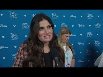 "FROZEN 2 with ""Idina Menze"" at D23 2019"