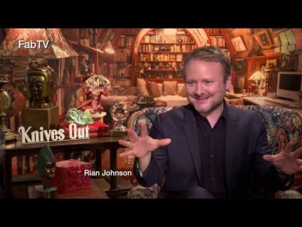 "Rian Johnson director of ""Knives Out"""