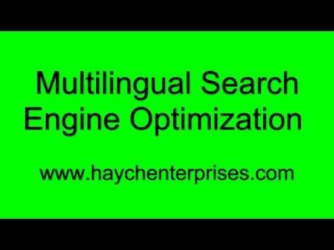 Multilingual Search Engine Optimization