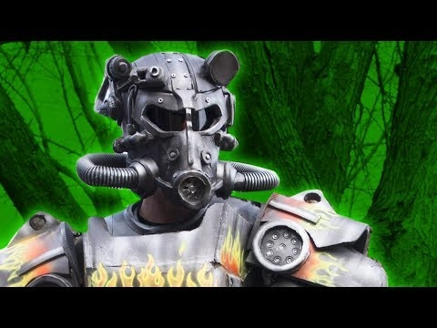 BTS: Fallout Power Armor Build - Cosplay Airsoft