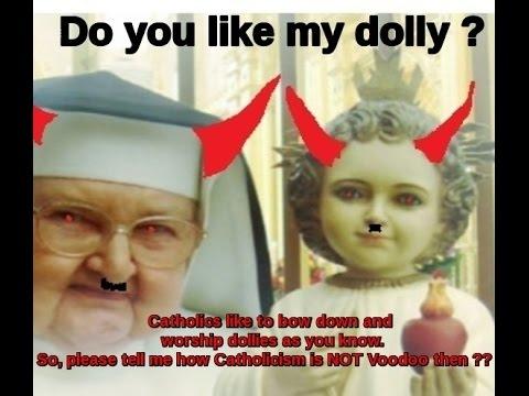 #Catholic #Idolatry and Luciferianism