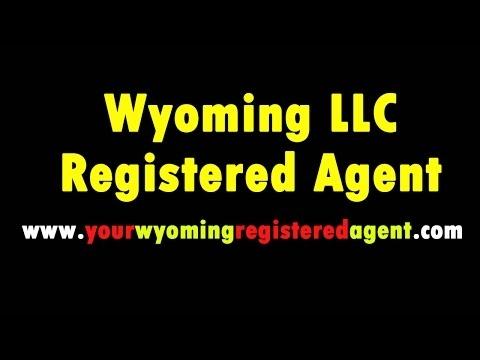 Wyoming LLC Registered Agent