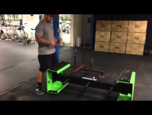 Jason Khalipa coaching the Tire Flip