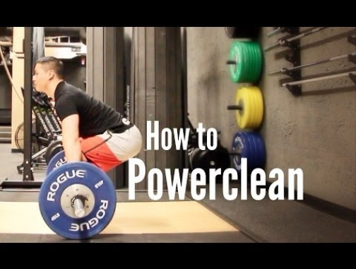How to Powerclean: A very concise and professional video.