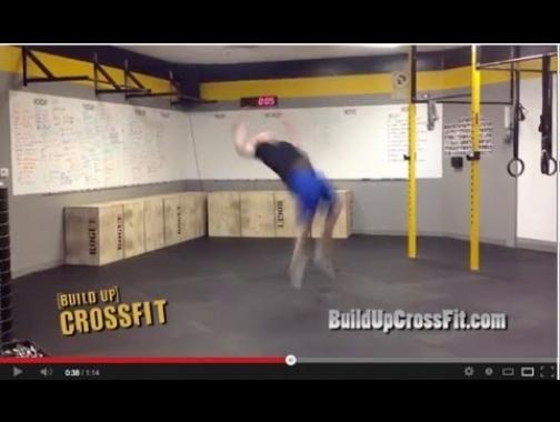 10 Backflip Burpee Challenge -