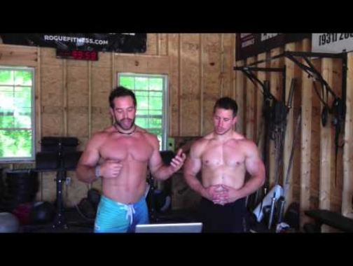 Rich Froning and Dan Bailey Q&A + Burpee Backflips