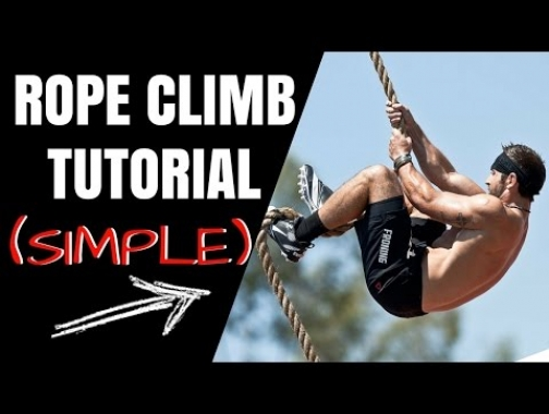 Rope Climbing Technique- How To