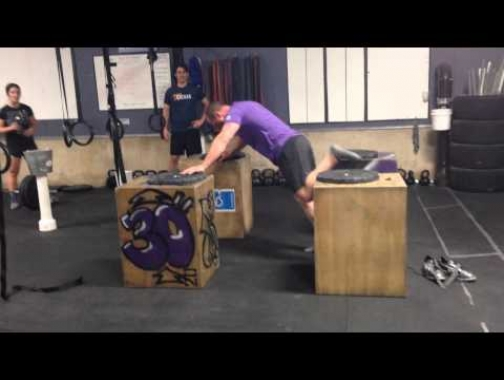 "31"" Plyo Push-up Box Jump"